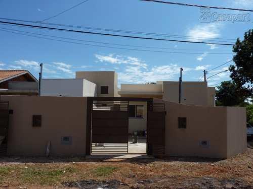Casa, código 875 em Campo Grande, bairro Jardim Campo Nobre