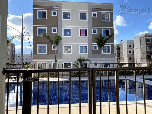 Apartamento, código 877 em Campo Grande, bairro Pioneiros