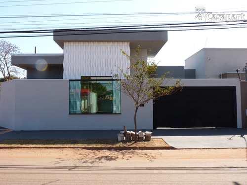 Casa, código 899 em Campo Grande, bairro Parque Residencial Rita Vieira