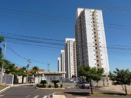 Apartamento, código 913 em Campo Grande, bairro Parque Residencial Rita Vieira