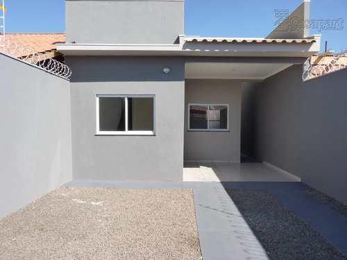 Casa, código 935 em Campo Grande, bairro Loteamento Bela Laguna