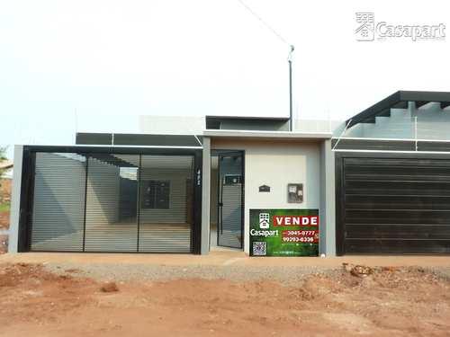 Casa, código 1001 em Campo Grande, bairro Parque Residencial Rita Vieira