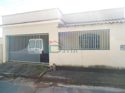 Casa, código 202 em São João Del Rei, bairro Solar da Serra (Colônia do Marçal)
