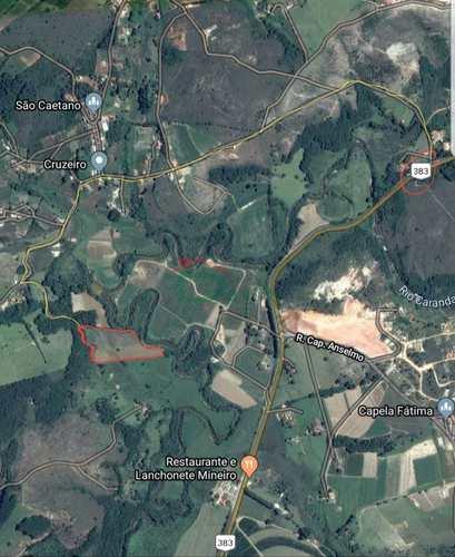Terreno Rural, código 257 em Coronel Xavier Chaves, bairro São Caetano