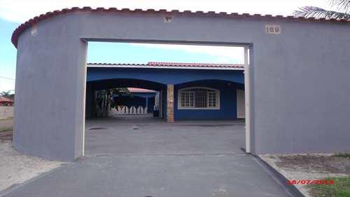Casa, código 363 em Itanhaém, bairro Balneário Califórnia