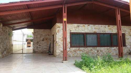 Casa, código 470 em Itanhaém, bairro Jardim Bopiranga