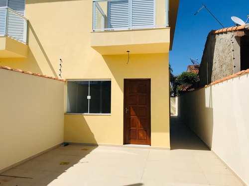 Casa, código 627 em Itanhaém, bairro Balneário Tupy