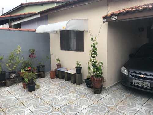 Casa, código 662 em Itanhaém, bairro Cibratel II