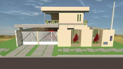Casa, código 664 em Itanhaém, bairro Jardim Santa Júlia