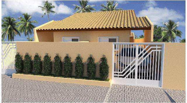 Casa em Itanhaém, no bairro Jardim Oásis