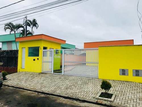 Casa, código 839 em Itanhaém, bairro Cibratel II