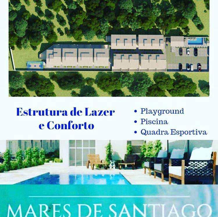 Casa em São Sebastião, no bairro Santiago