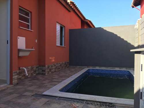 Casa, código 1023 em Itanhaém, bairro Cibratel II