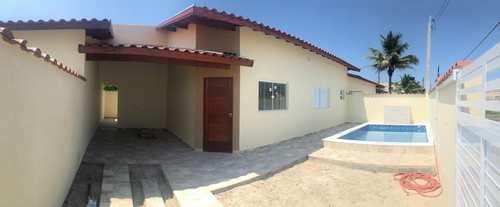 Casa, código 1025 em Itanhaém, bairro Cibratel II
