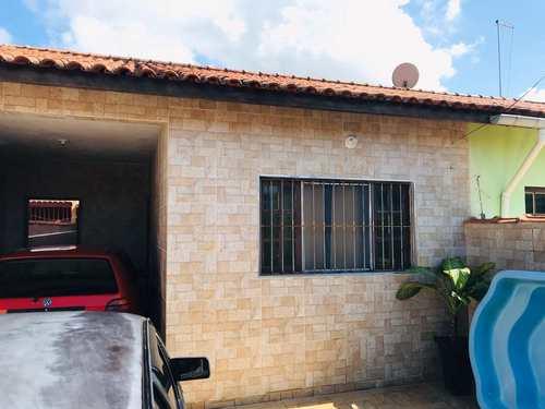 Casa, código 1030 em Itanhaém, bairro Cibratel I