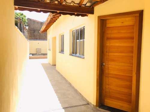 Casa, código 1034 em Itanhaém, bairro Raul Cury