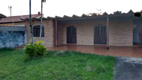 Casa, código 1039 em Itanhaém, bairro Balneário Tupy