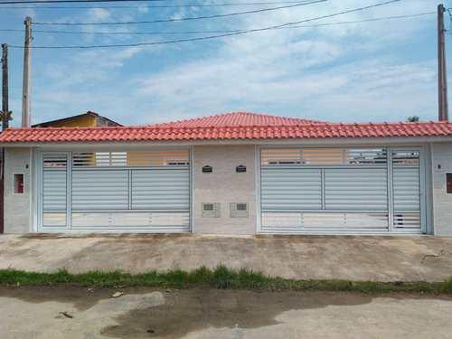 Casa, código 1050 em Itanhaém, bairro Raul Cury