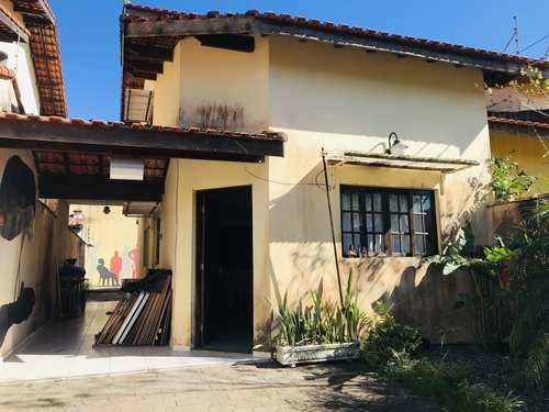 Casa, código 1118 em Itanhaém, bairro Cibratel II