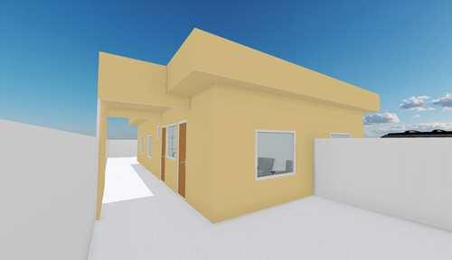 Casa, código 1135 em Itanhaém, bairro Gaivotas
