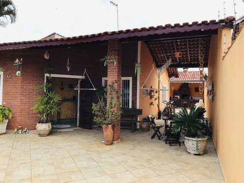 Casa, código 1146 em Itanhaém, bairro Cibratel II