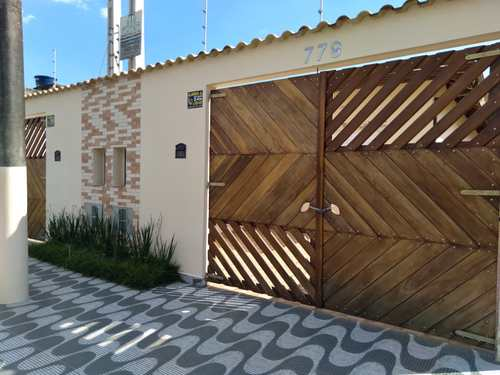 Casa, código 1154 em Itanhaém, bairro Balneário Tupy