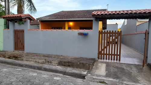 Casa, código 1165 em Itanhaém, bairro Jardim Corumbá