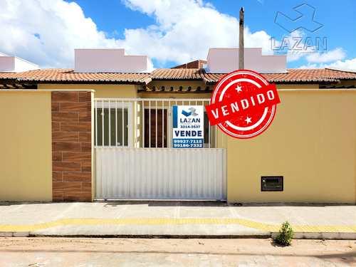 Casa, código 274 em São Gonçalo do Amarante, bairro Cidade das Rosas