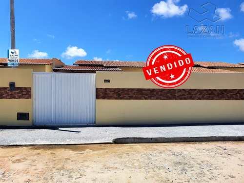 Casa, código 359 em São Gonçalo do Amarante, bairro Cidade das Rosas