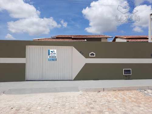 Casa, código 411 em Extremoz, bairro Alamedas