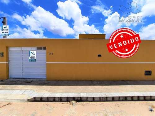 Casa, código 438 em São Gonçalo do Amarante, bairro Flores do Campo