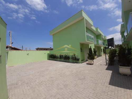 Sobrado de Condomínio, código 1209 em Itanhaém, bairro Jardim Palmeiras