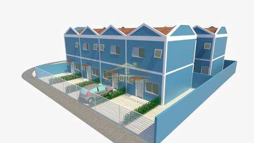 Sobrado de Condomínio, código 1210 em Itanhaém, bairro Loty