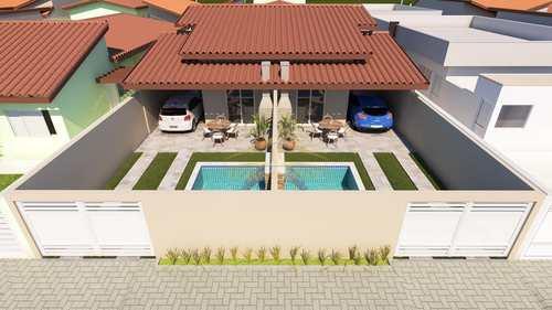 Casa, código 1381 em Itanhaém, bairro Suarão