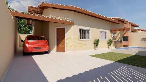 Casa, código 1420 em Itanhaém, bairro Cibratel II