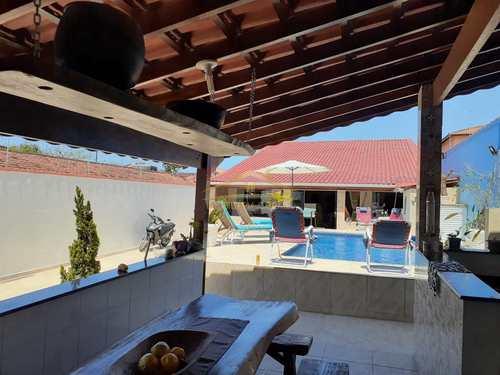 Casa, código 1427 em Itanhaém, bairro Bopiranga