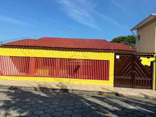 Casa, código 1524 em Itanhaém, bairro Corumbá