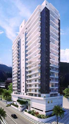 Apartamento, código 553 em Praia Grande, bairro Guilhermina