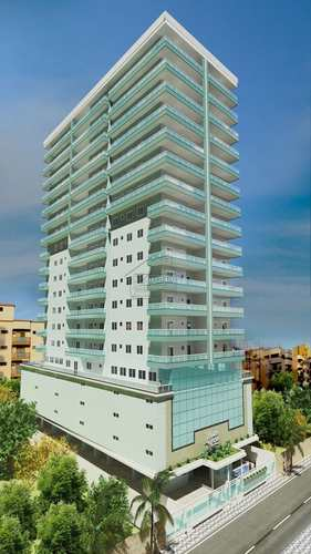 Apartamento, código 535 em Praia Grande, bairro Canto do Forte