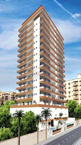 Apartamento, código 437 em Praia Grande, bairro Caiçara
