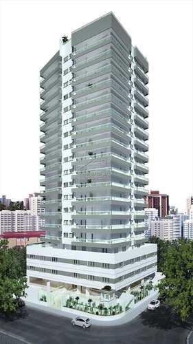 Apartamento, código 411 em Praia Grande, bairro Guilhermina