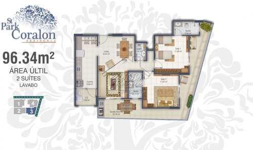 Apartamento, código 2421 em Praia Grande, bairro Canto do Forte