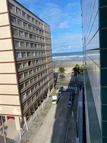 Kitnet, código 2966 em Praia Grande, bairro Guilhermina