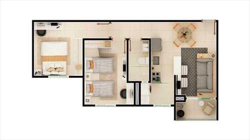 Apartamento, código 725 em Salto, bairro Bela Vista