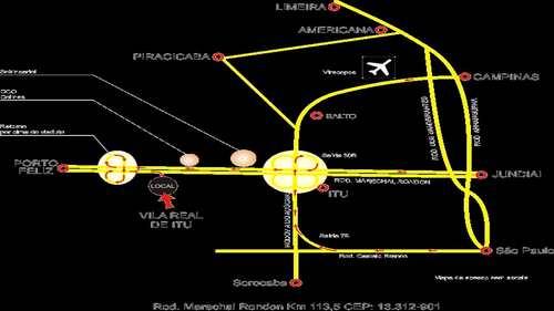 Terreno, código 722 em Itu, bairro Fazenda Vila Real de Itu