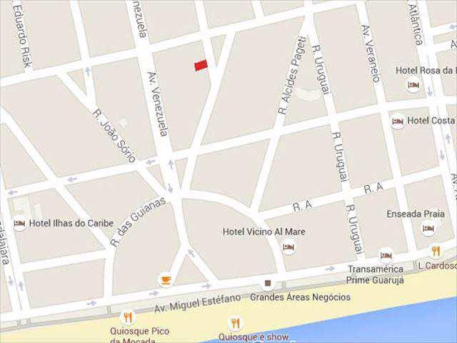 Terreno em Guarujá, bairro Balneário Cidade Atlântica