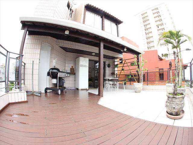 Cobertura em Guarujá, bairro Balneário Cidade Atlântica