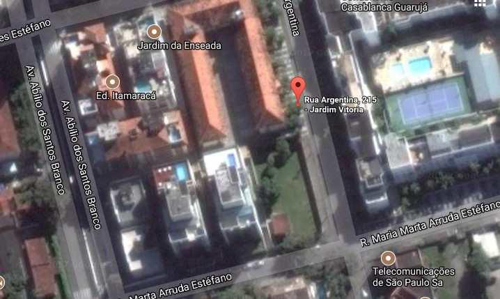 Terreno Comercial em Guarujá, bairro Jardim Vitória