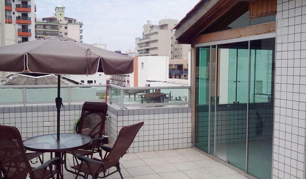 Cobertura em Guarujá, bairro Loteamento João Batista Julião