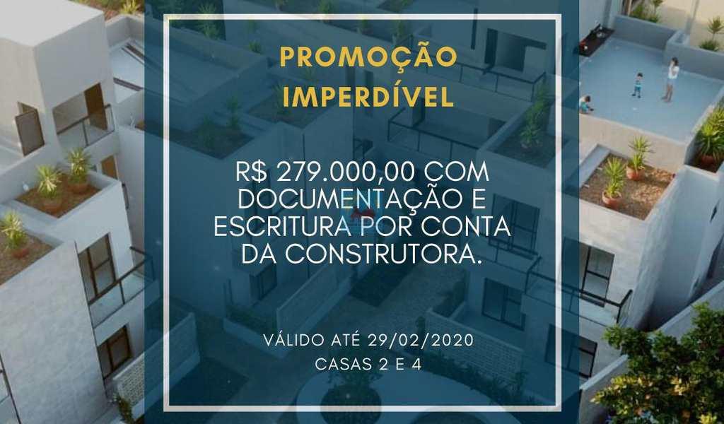 Casa de Condomínio em Itanhaém, bairro Jardim Suarão
